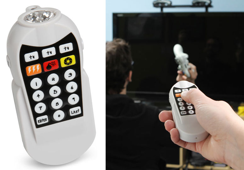 Weaponized TV Jammer Prank Toy Television Gadget Toy for Jamming TV for boys of all ages Ninja Remote 2