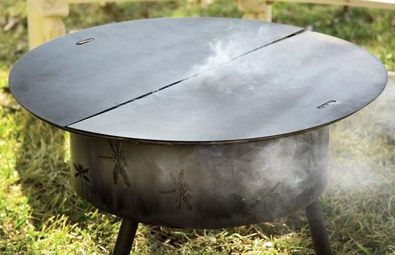 Steel Fire Pit Snuffer