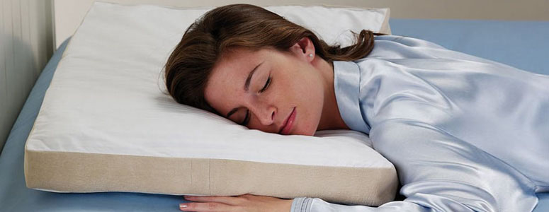 Stomach sleepers pillow the green head for Best down pillows for stomach sleepers