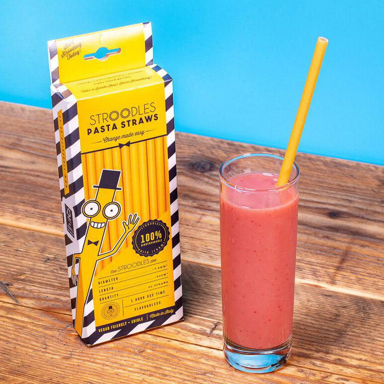 Stroodles - 100% Biodegradable Pasta Straws