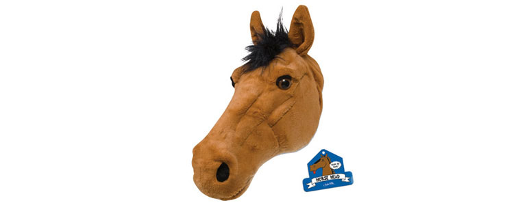 stuffed horse head pillow - Horses Head Pillow