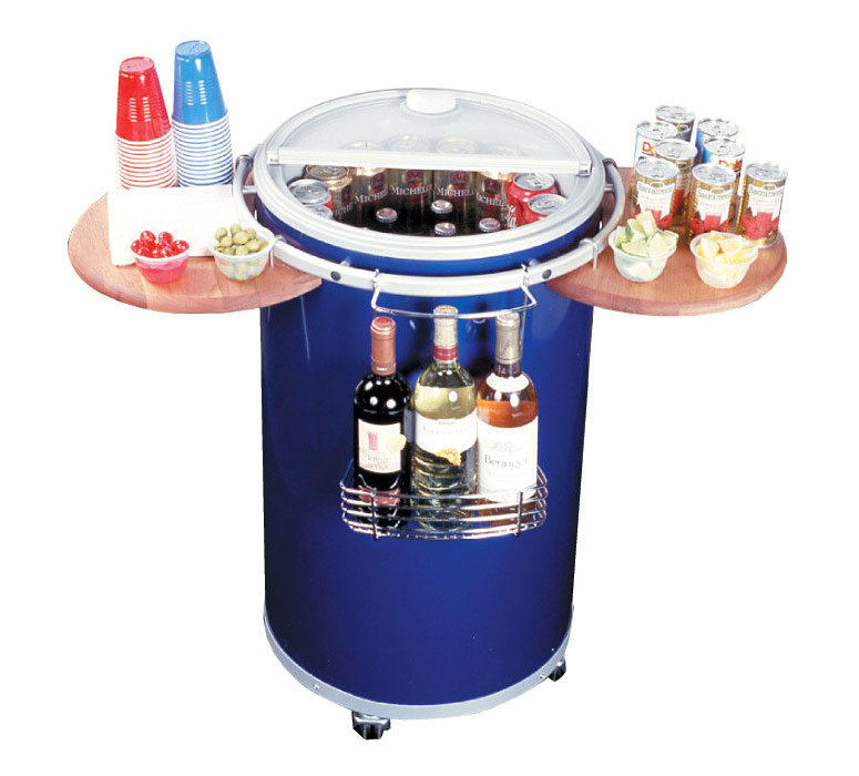 Summit Round Refrigerated Party Cooler