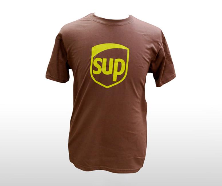 SUP - UPS Parody T-Shirt - The Green Head