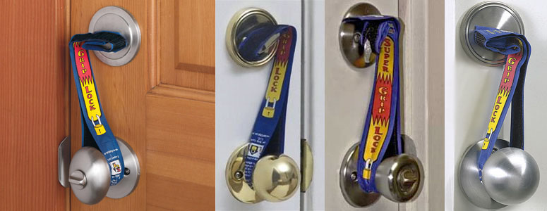 Super Grip Lock - Deadbolt Security Straps