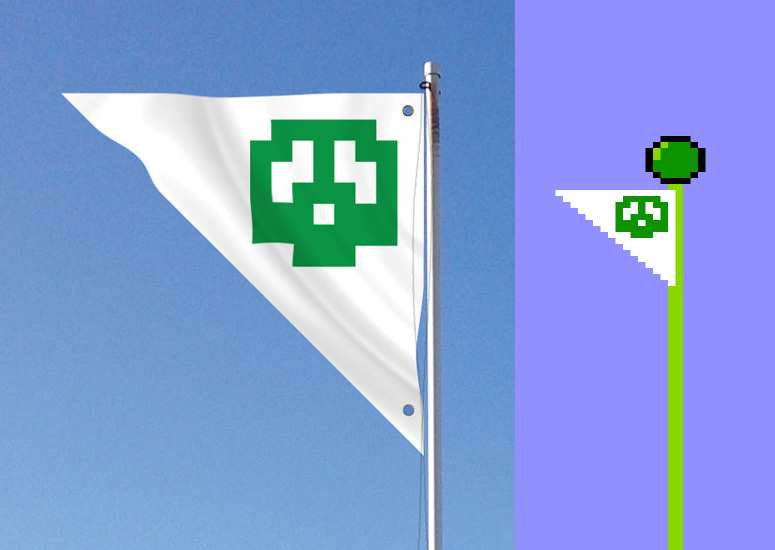 Super Mario Bros. Flag