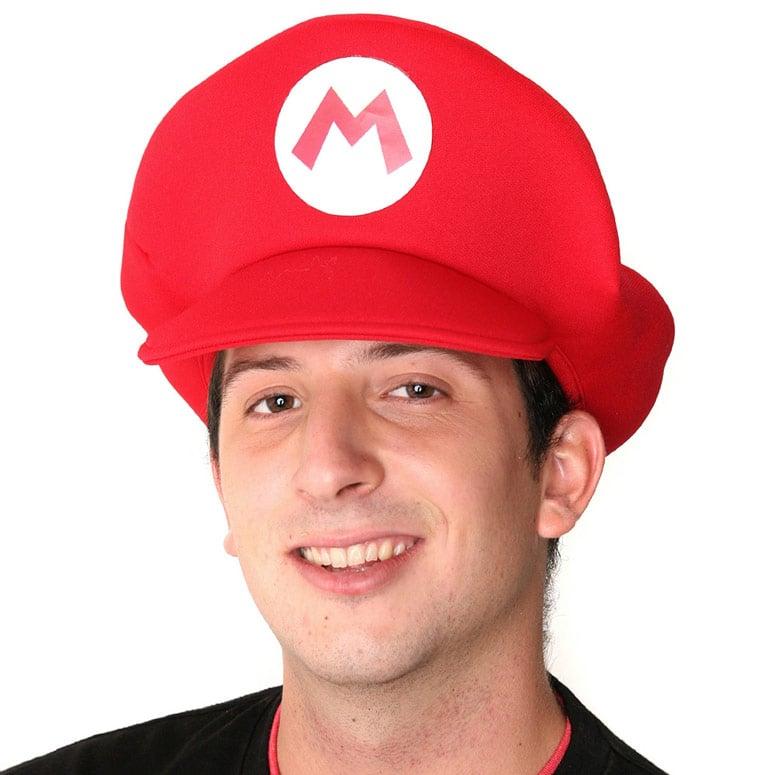 super mario bros mario hat the green head