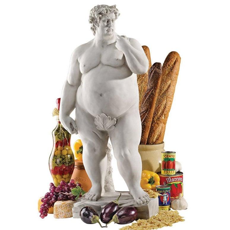 Super-Sized David Statue