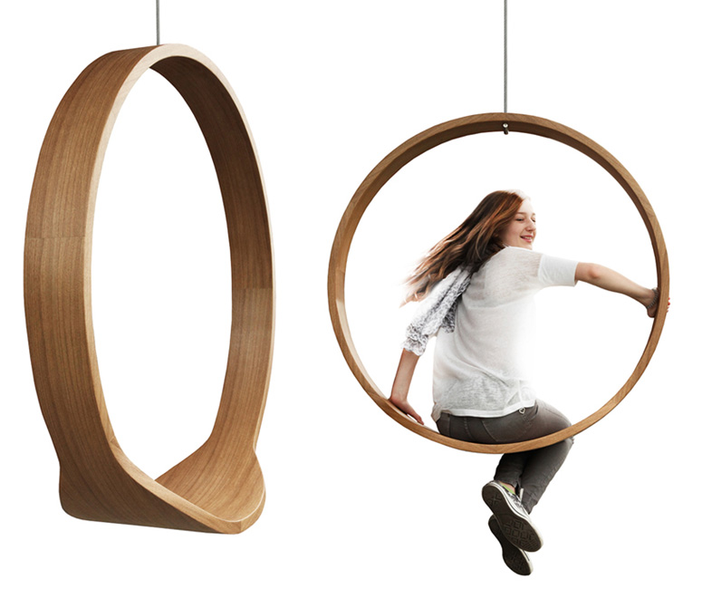 Charmant SWING   Wooden Circle Chair