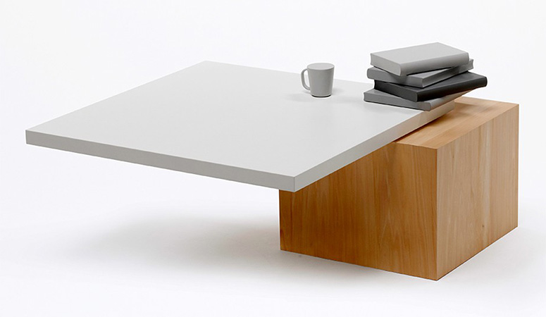 Table 01 - Stable Only When Objects Are Placed On It