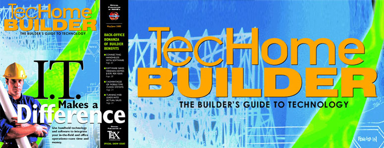 FREE - TecHome Builder Magazine - Builder's Guide to Technology