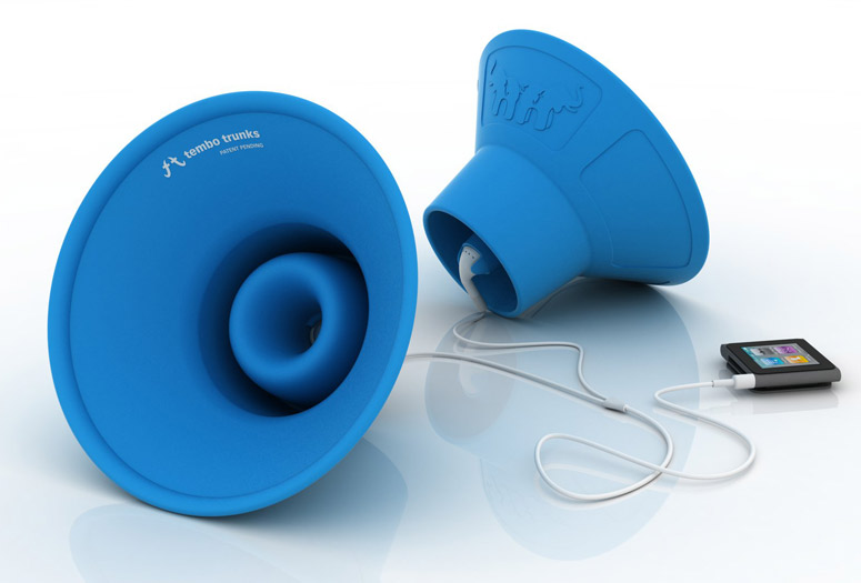 Tembo Trunks - Amplifying Earbud Speakers