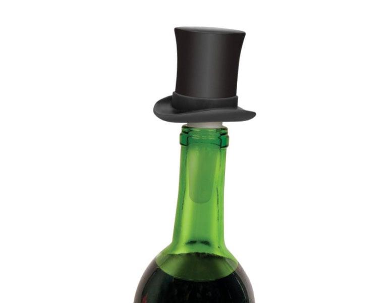 Top Hat Wine Bottle Stopper The Green Head
