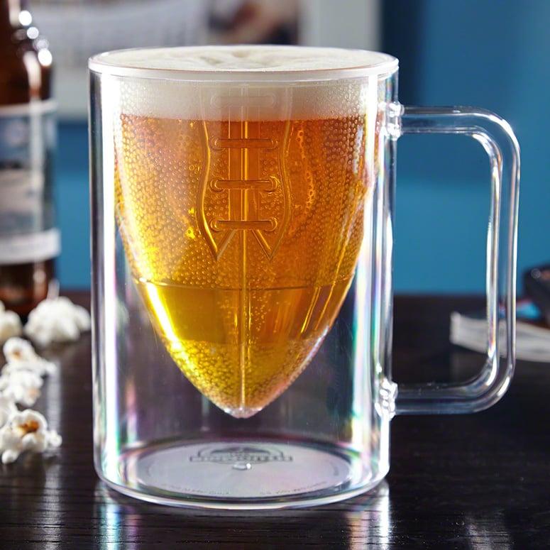 Touchdown Football Beer Mug The Green Head