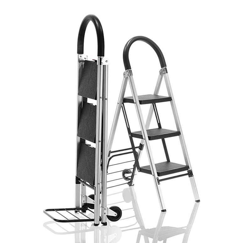 Travel Smart LadderKart - Stepladder / Hand Cart