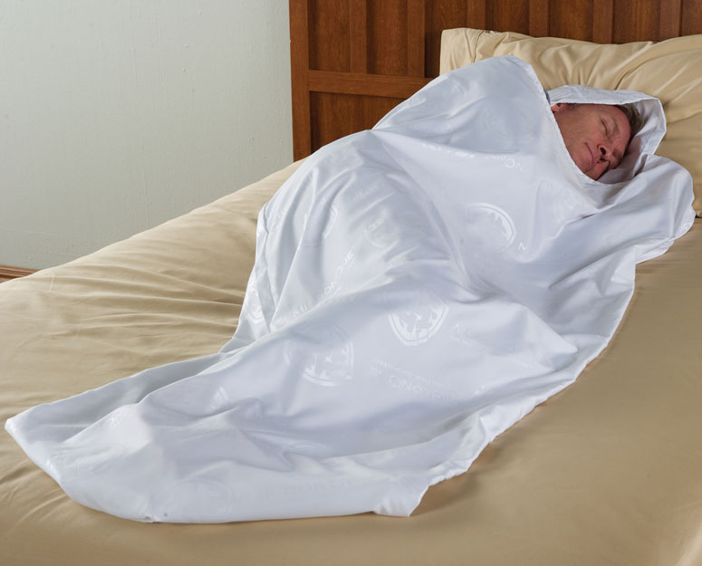 Traveler's Bed Bug Thwarting Sleeping Cocoon