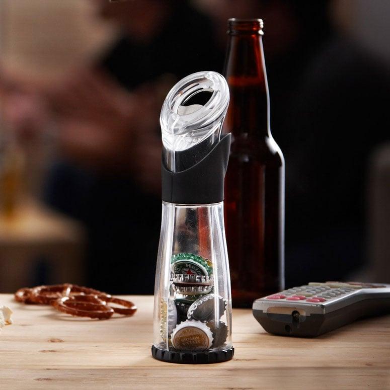 trudeau bottle opener cap catcher the green head. Black Bedroom Furniture Sets. Home Design Ideas