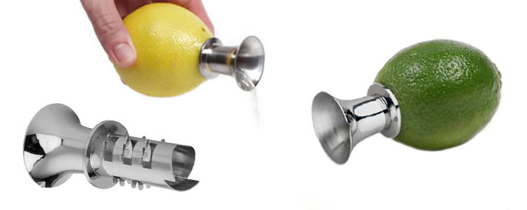 Trumpet Citrus Juicer - Screw In and Squeeze