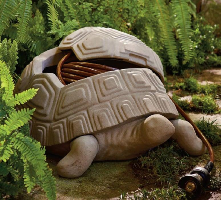 Turtle Garden Hose Hider