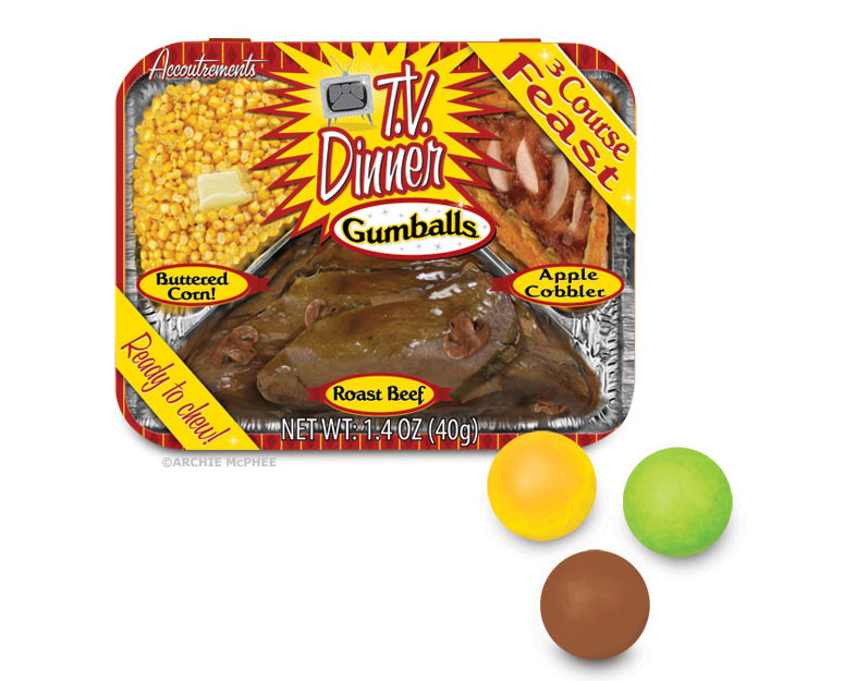 TV Dinner Gumballs - The Green Head