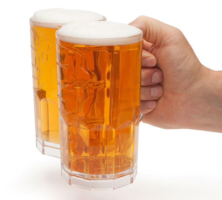 Two Fisted Drinker Beer Mug The Green Head