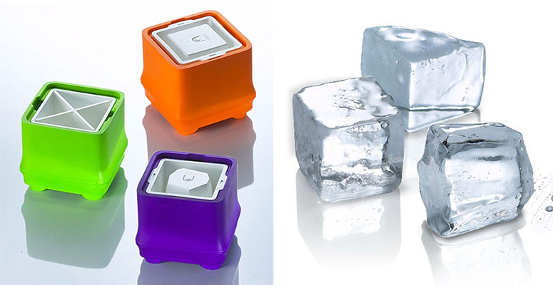U-Cube Polar Ice Trays Make Crystal Clear Ice Cubes