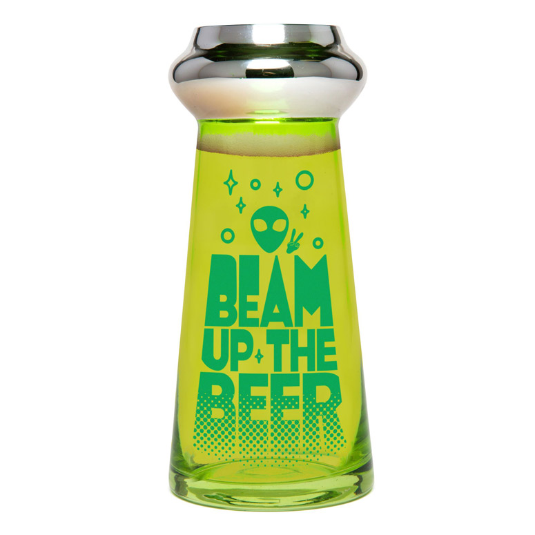 UFO Beer Glass
