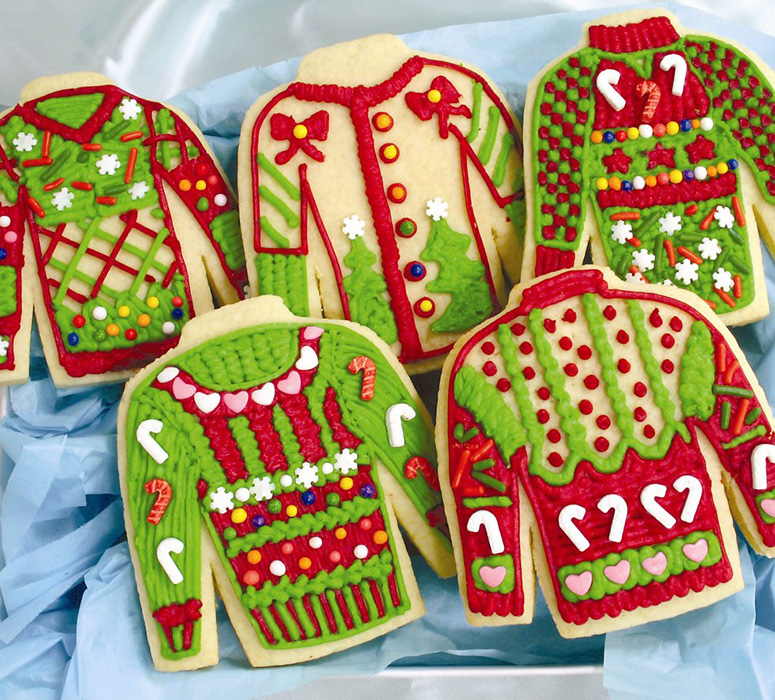 Ugly Christmas Sweater Cookie Kit - The Green Head