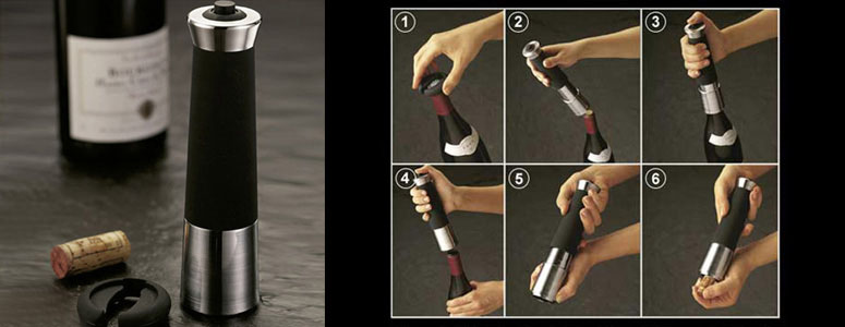 Ultimate Corkscrew - Zevro Indispensable Wine Bottle Opener
