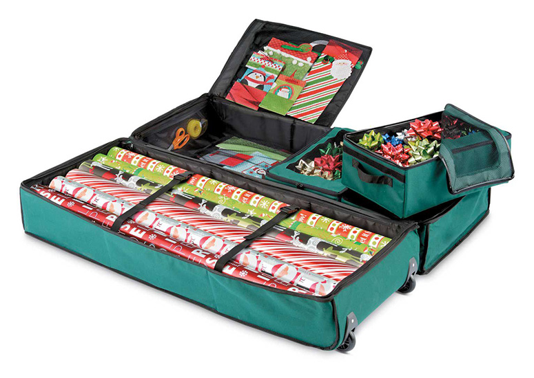 Ultimate Gift Wrap Storage Bag