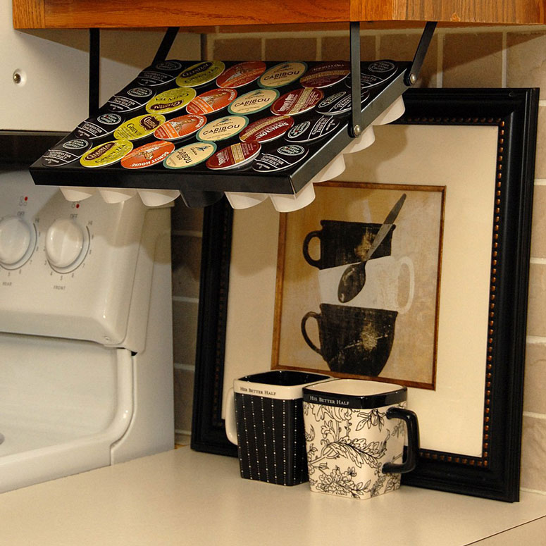 Under Cabinet Keurig K Cup Holder The Green Head