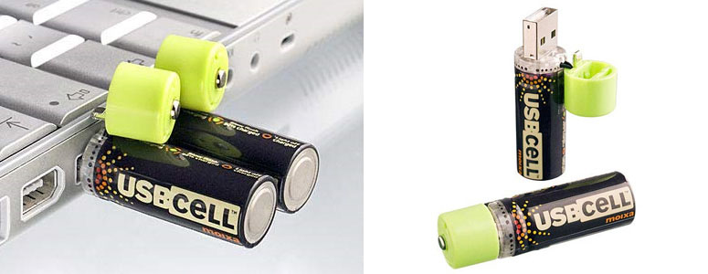USBCell - USB Rechargeable Batteries