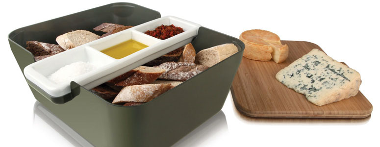 Vacu Vin Bread & Dip Server