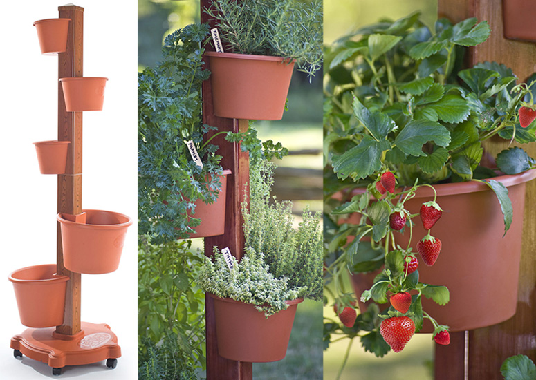 Vertical Garden Post