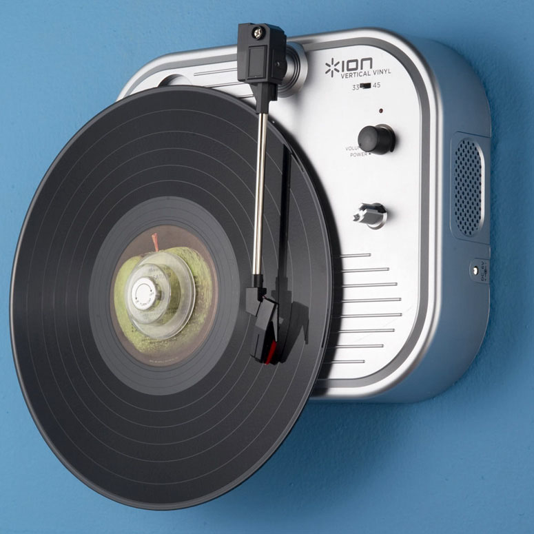 Vertical Vinyl Wall Mounted Turntable