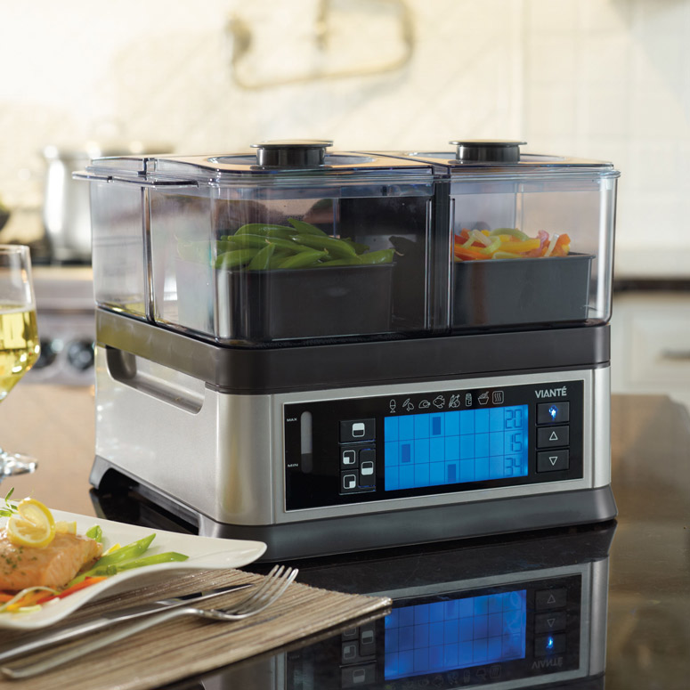 Viante Intellisteam - Three Chamber Food Steamer
