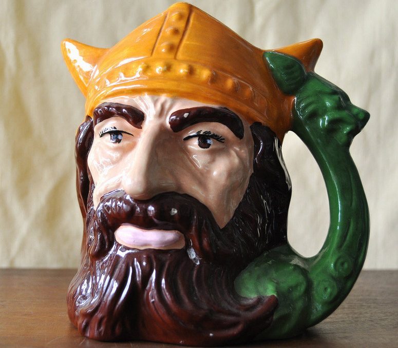 Viking Head Mug