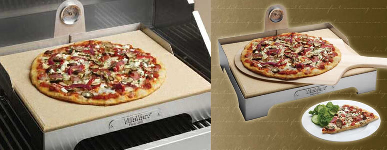 VillaWare Pizza Grill - Brick Oven Style Pizza at Home!
