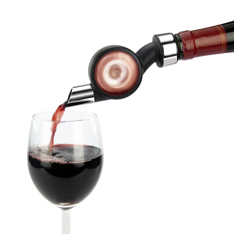 Vinaerator Wine Aerator And Bottle Stopper The Green Head