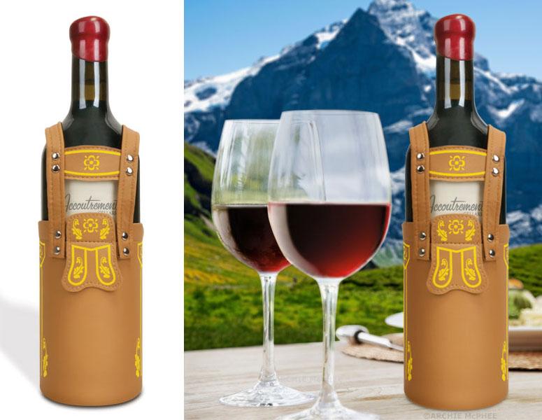 Vinderhosen German Lederhosen For Wine Bottles The