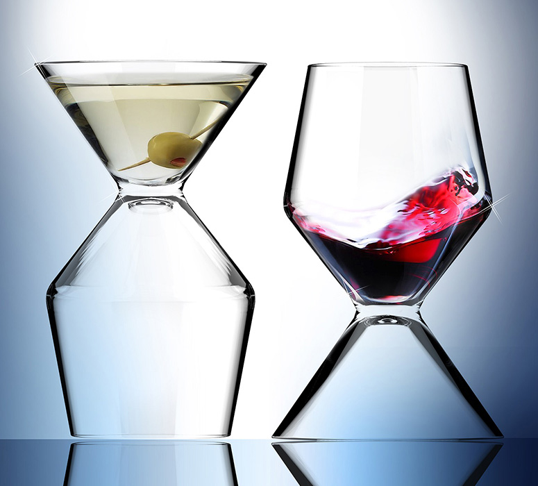Vino-Tini - Wine / Martini Glass