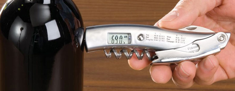 VinTemp Corkscrew and Infrared Wine Thermometer