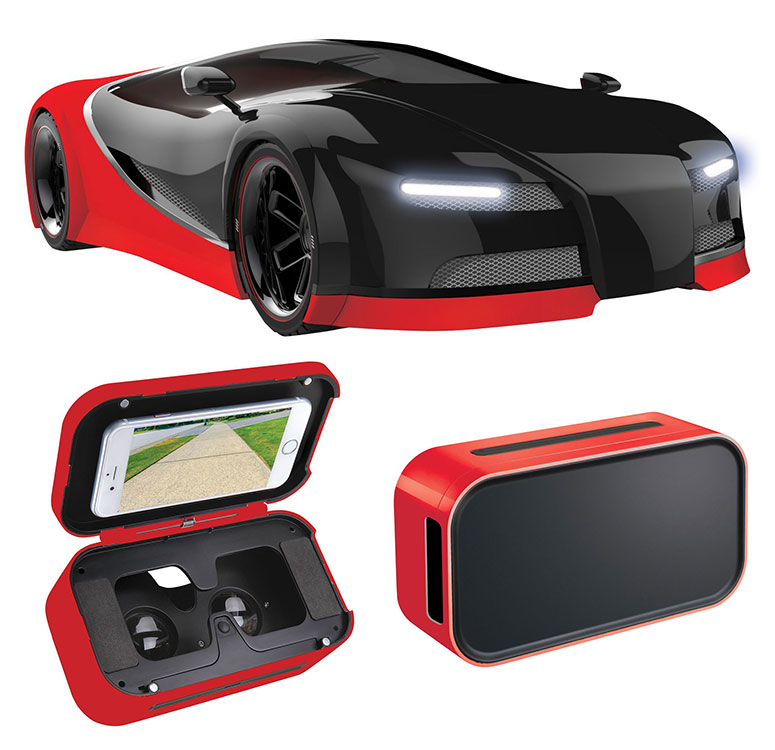 Virtual Reality Remote Control FPV Race Car - Puts You In the Driver's Seat!