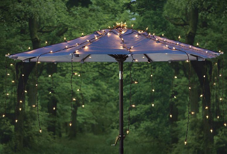 Waterfall Umbrella Canopy Light Cover & Waterfall Umbrella Canopy Light Cover - The Green Head