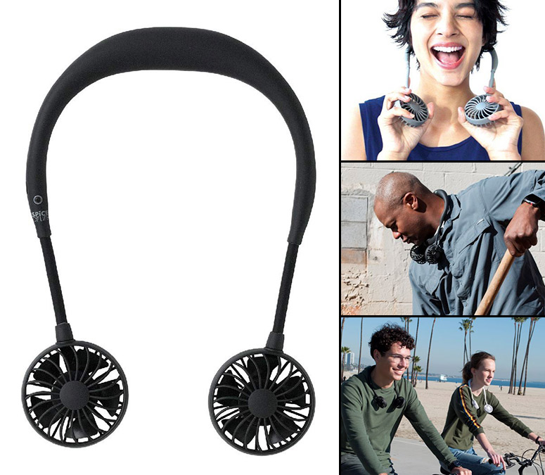Wearable Hands-Free Fans