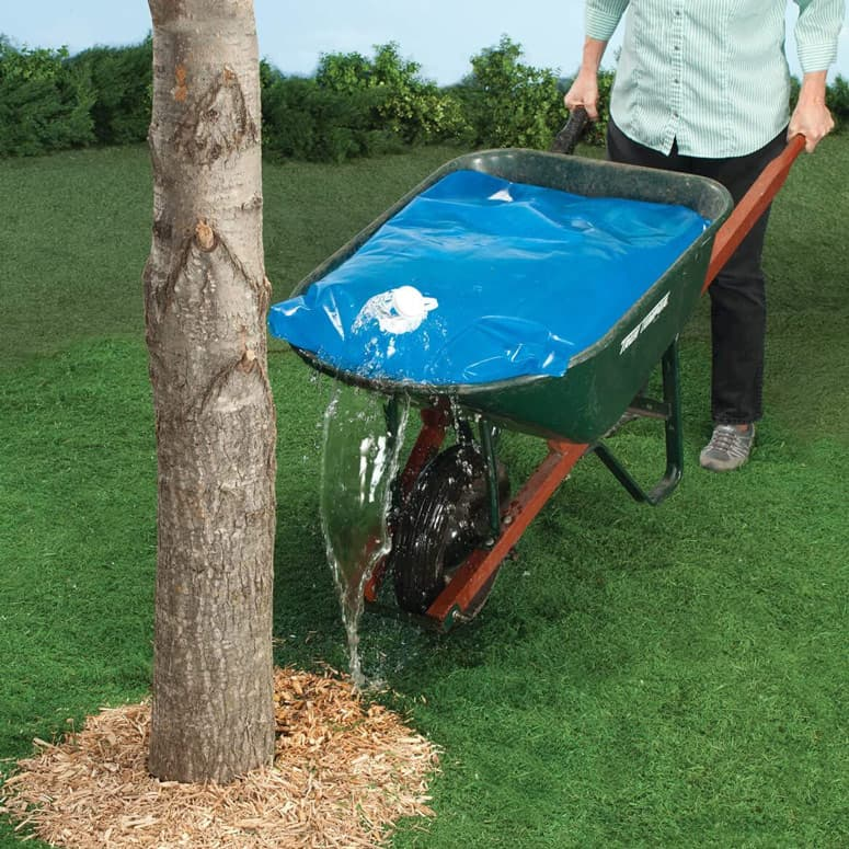 Wheelbarrow Water Bag - Transport or Store Up To 20 Gallons
