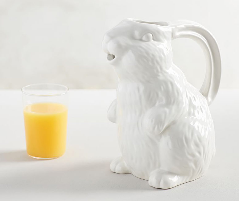 Whimsical Bunny Pitcher
