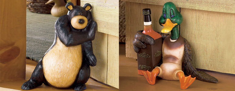 Whimsical Wildlife Doorstops The Green Head