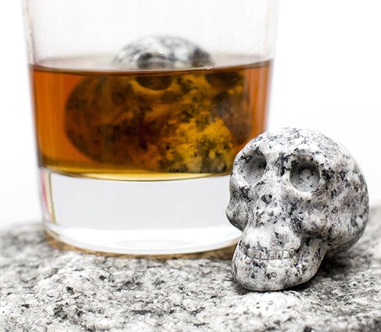 Whiskey Bones Granite Whiskey Stones