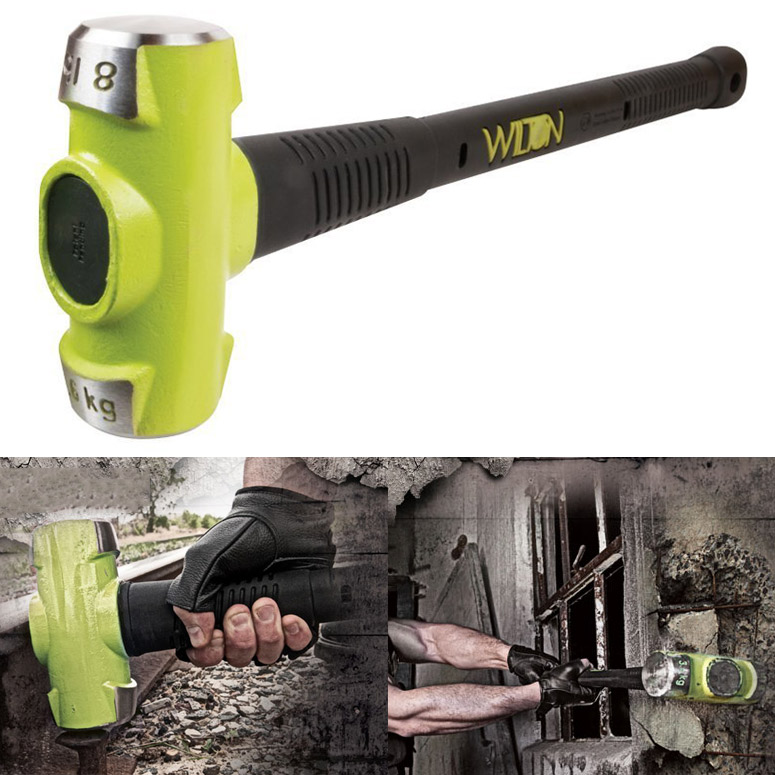Wilton B A S H Unbreakable Sledgehammer The Green Head