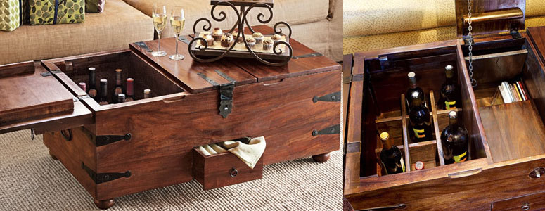 bar trunk furniture. wine bar treasure trunk furniture t